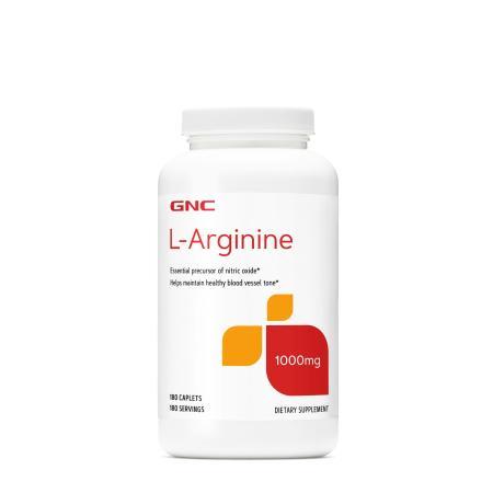 GNC L-Arginine 1000, 180 каплет