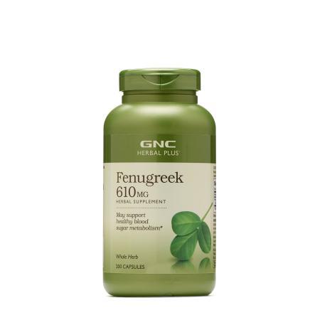 GNC Herbal Plus Fenugreek 610 mg, 200 капсул