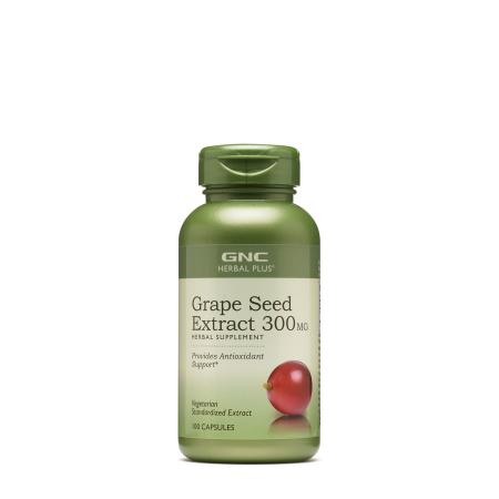 GNC Herbal Plus Grape Seed Extract 300 mg, 100 капсул