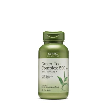 GNC Herbal Plus Green Tea Complex 500 mg, 100 капсул