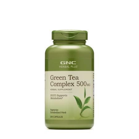 GNC Herbal Plus Green Tea Complex 500 mg, 200 капсул