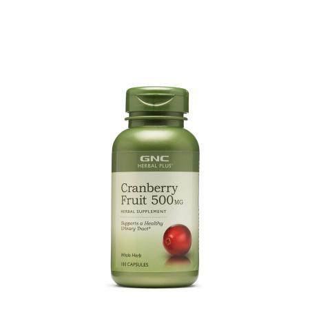 GNC Herbal Plus Cranberry Fruit 500 mg, 100 капсул