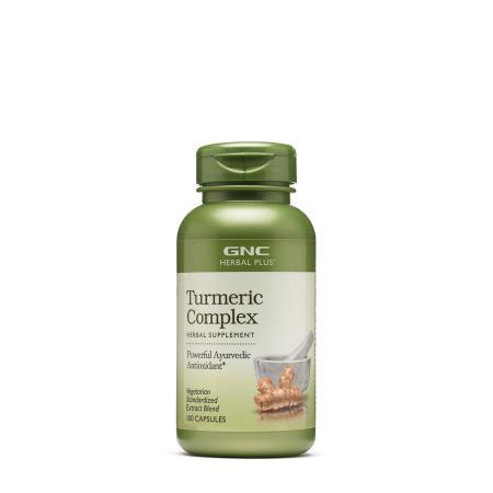 GNC Herbal Plus Turmeric Complex, 100 капсул