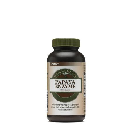 GNC Natural Brand Papaya Enzyme, 90 таблеток