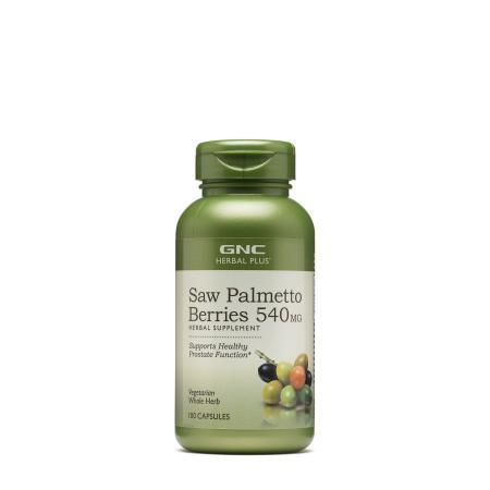 GNC Herbal Plus Saw Palmetto Berries 540 mg, 100 капсул