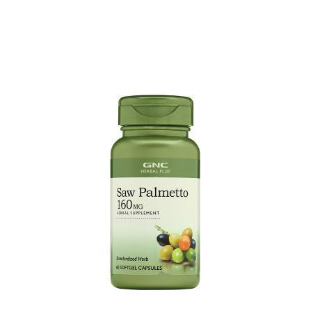 GNC Herbal Plus Saw Palmetto 160 mg, 60 капсул