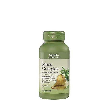 GNC Herbal Plus Maca Complex, 60 капсул