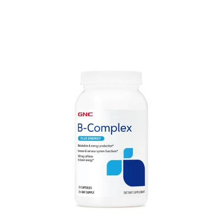 GNC B-Complex Plus Energy, 21 капсул