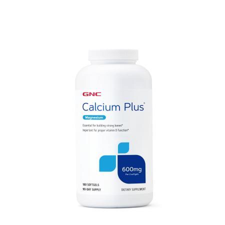 GNC Calcium Plus with Magnesium, 180 капсул