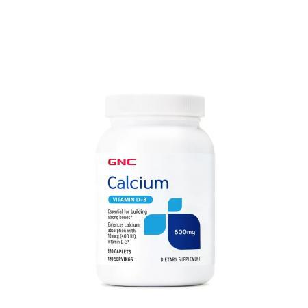 GNC Calcium Plus with Vitamin D3, 180 капсул