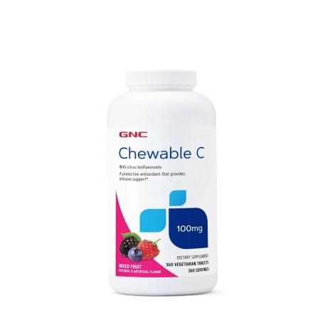 GNC Chewable C 100 mg, 360 вегатаблеток