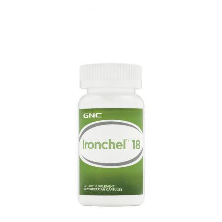 GNC Ironchel 18 mg, 90 вегакапсул