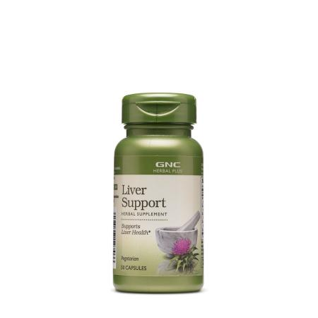 GNC Herbal Plus Liver Support, 90 капсул