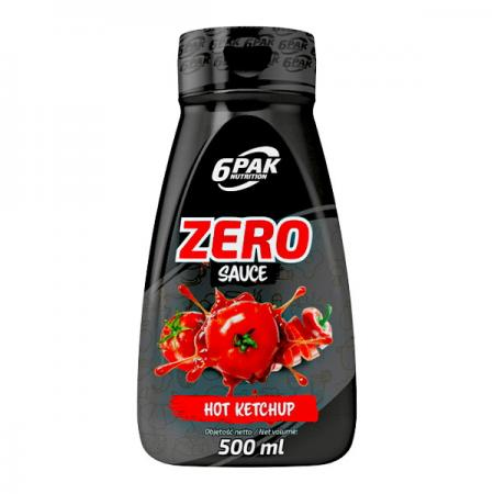 6PAK Nutrition Zero Sauce, 500 мл - острый кетчуп