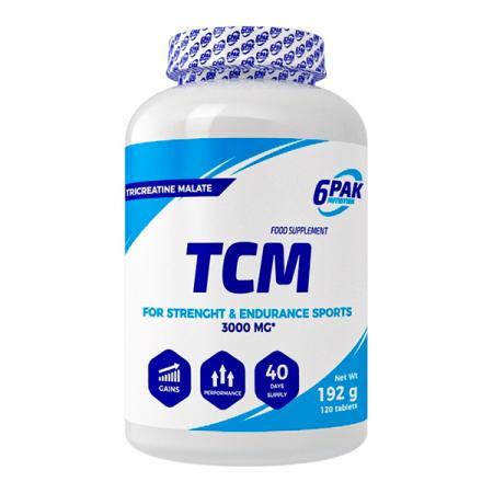 6PAK Nutrition TCM, 120 таблеток