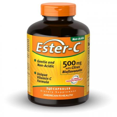 American Health Ester-C with Citrus Bioflavonoids 500 mg, 120 капсул