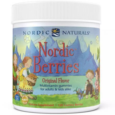 Nordic Naturals Nordic Berries, 120 желеек