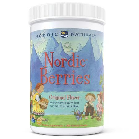 Nordic Naturals Nordic Berries, 200 желеек