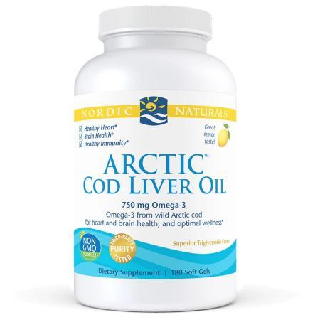 Nordic Naturals Arctic Cod Liver Oil, 180 капсул
