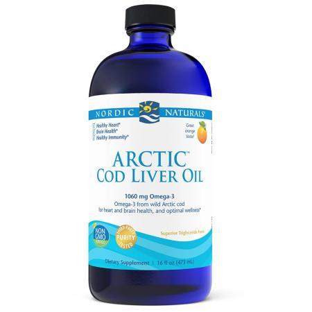 Nordic Naturals Arctic Cod Liver Oil, 473 мл