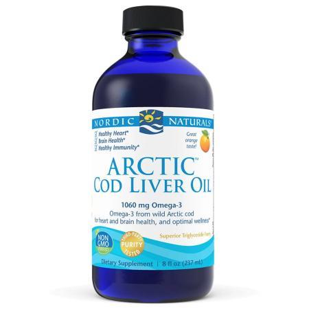Nordic Naturals Arctic Cod Liver Oil, 237 мл
