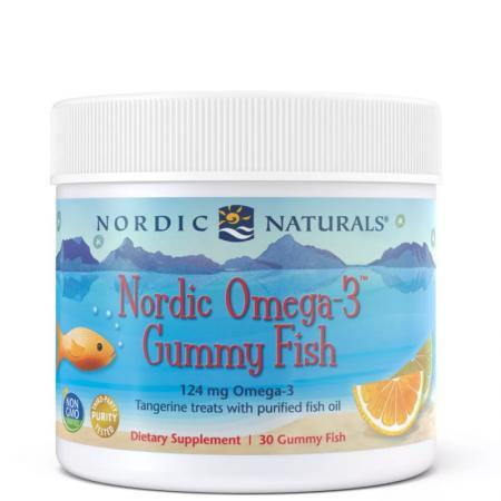 Nordic Naturals Nordic Omega-3 Gummies, 30 желеек - мандарин