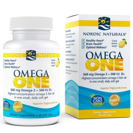 Nordic Naturals Omega One, 30 капсул