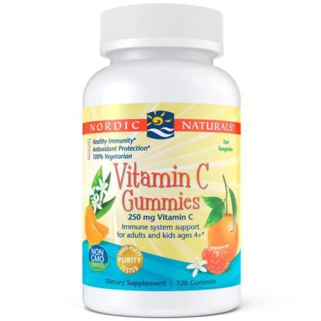 Nordic Naturals Vitamin C Gummies, 120