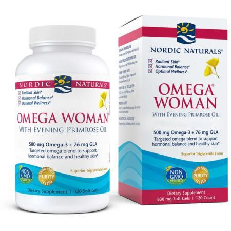 Nordic Naturals Omega Woman, 120 капсул