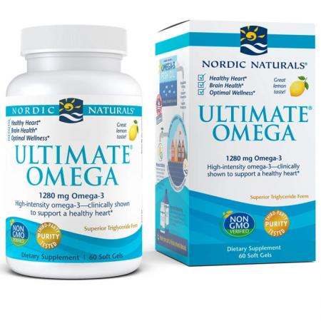 Nordic Naturals Ultimate Omega, 60 капсул