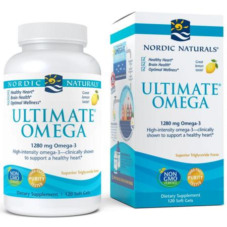 Nordic Naturals Ultimate Omega, 120 капсул