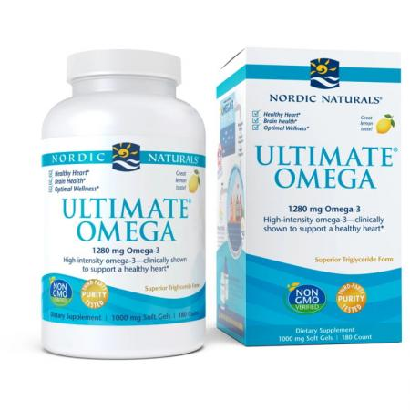 Nordic Naturals Ultimate Omega, 180 капсул