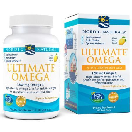 Nordic Naturals Ultimate Omega, 60 рыбных капсул