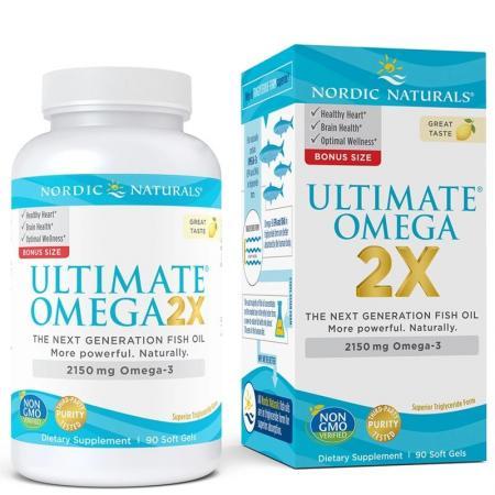 Nordic Naturals Ultimate Omega 2X, 90 box
