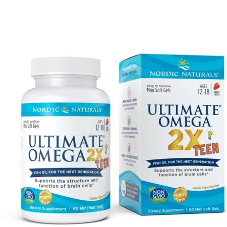 Nordic Naturals Ultimate Omega 2X Teen, 60 капсул