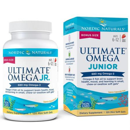 Nordic Naturals Ultimate Omega Junior, 120 капсул