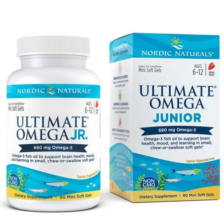 Nordic Naturals Ultimate Omega Junior, 90 капсул
