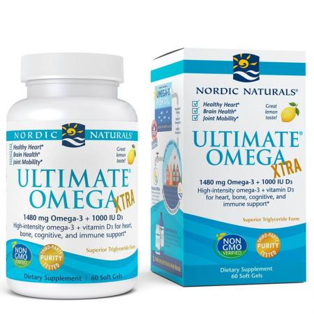 Nordic Naturals Ultimate Omega Xtra, 60 капсул