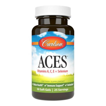 Carlson Labs ACES, 50 капсул
