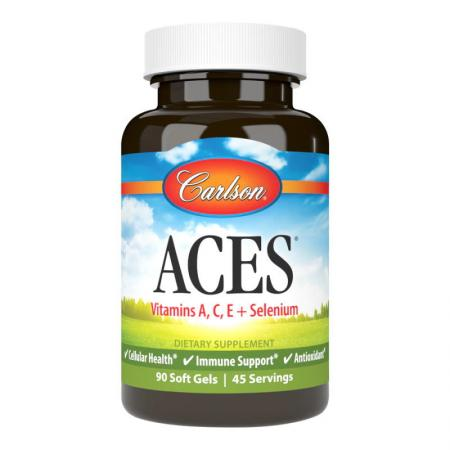 Carlson Labs ACES, 90 капсул