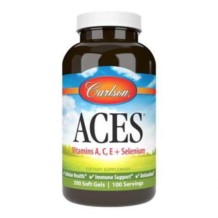 Carlson Labs ACES, 200 капсул
