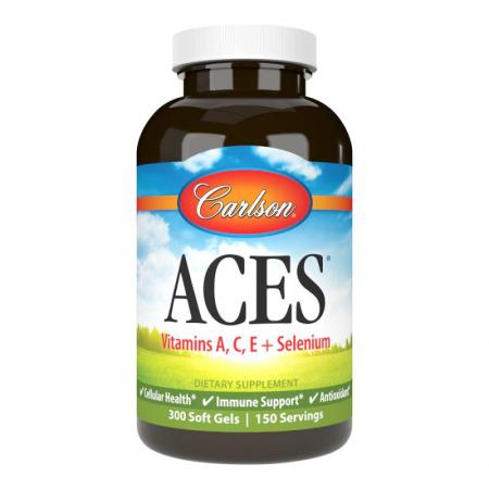 Carlson Labs ACES, 300 капсул