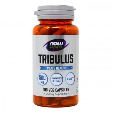 NOW Tribulus 500mg, 100 капсул