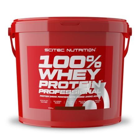 Scitec 100% Whey Protein Professional, 5 кг