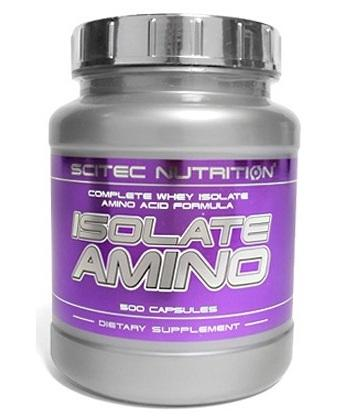 Scitec Isolate Amino, 500 капсул