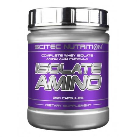 Scitec Isolate Amino, 250 капсул