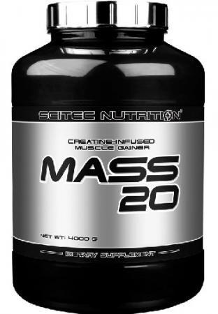 Scitec Mass 20, 4 кг