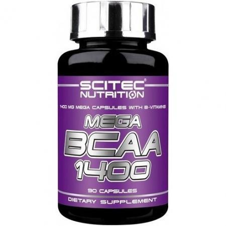 Scitec Mega BCAA 1400, 90 капсул