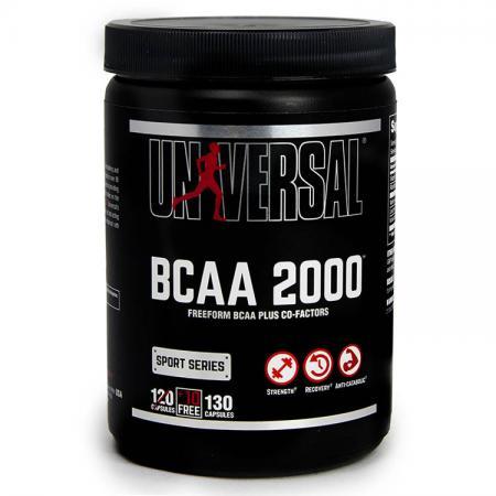 Universal BCAA 2000, 120 капсул