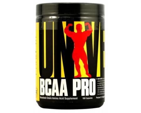 Universal BCAA Pro, 100 капсул